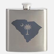 South Carolina (geo) Flask