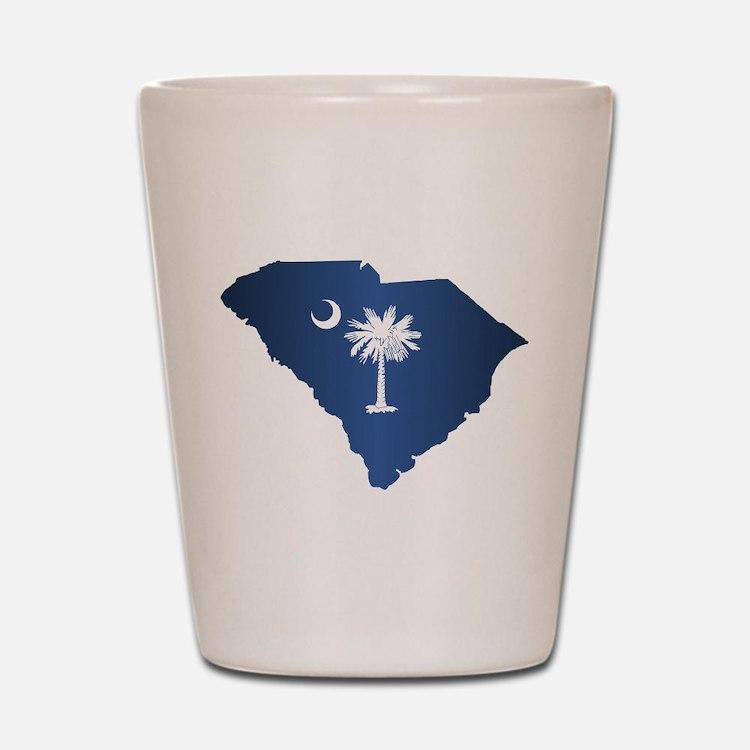 South Carolina (geo) Shot Glass
