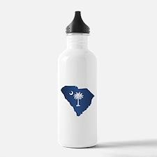South Carolina (geo) Water Bottle