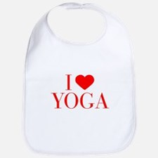 I love Yoga-Bau red 500 Bib