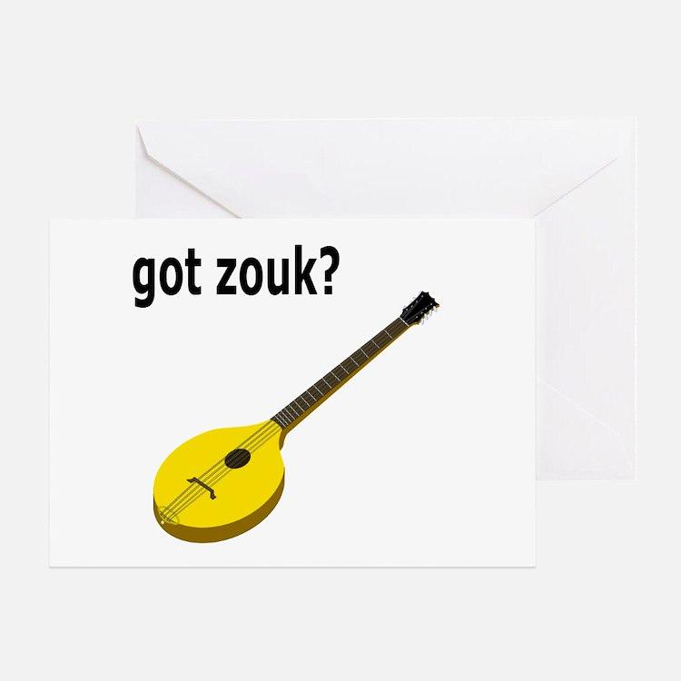 got zouk? Greeting Card
