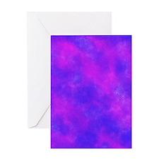 Purple Greeting Cards
