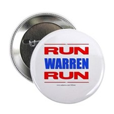 "Run Warren Run RBW 2.25"" Button"