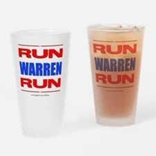 Run Warren Run RBW Drinking Glass