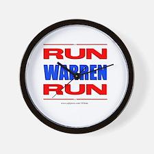 Run Warren Run RBW Wall Clock