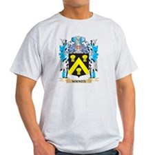 Wickes Coat of Arms - Family Crest T-Shirt
