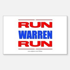 Run Warren Run Rbw Decal