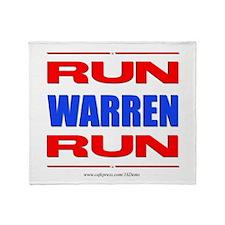 Run Warren Run RBW Throw Blanket