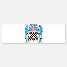 Wickham Coat of Arms - Family Crest Bumper Bumper Bumper Sticker