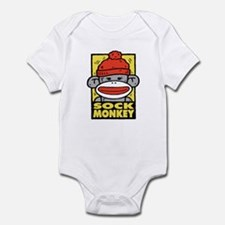 Sock Monkey Infant Creeper