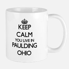 Keep calm you live in Paulding Ohio Mugs