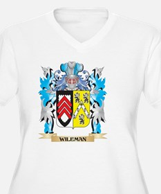 Wileman Coat of Arms - Family Cr Plus Size T-Shirt