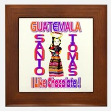 Santo Tomas , Guatemala . I L Framed Tile