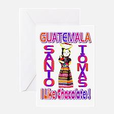 Santo Tomas , Guatemala . I L Greeting Card