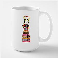 Santo Tomas , Guatemala . I L Large Mug