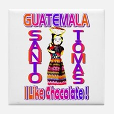 Santo Tomas , Guatemala . I L Tile Coaster