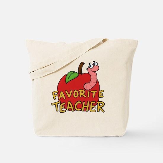 Favorite Teacher Tote Bag