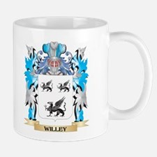 Willey Coat of Arms - Family Crest Mugs