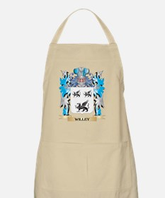 Willey Coat of Arms - Family Crest Apron