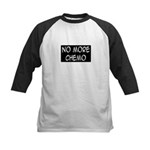 'No More Chemo' Kids Baseball Jersey
