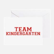 Team Kindergarten Greeting Card