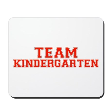 Team Kindergarten Mousepad
