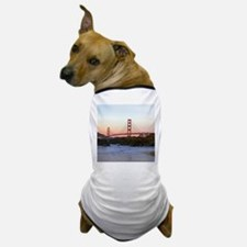 Funny Golden gate bridge Dog T-Shirt