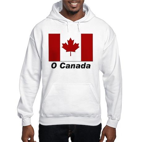 O Canada Hooded Sweatshirt for Canadians