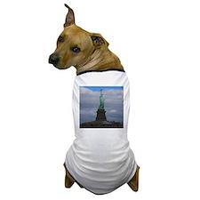 Statue of Liberty NYC Dog T-Shirt