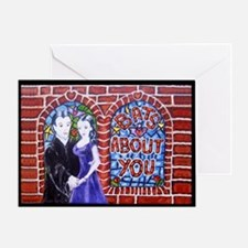 Bats About You, Vampire Valentine card