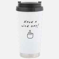 Cute Middle finger Travel Mug