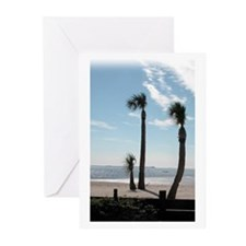 Palms on the Coast Greeting Cards (Pk of 20)