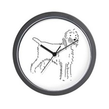 Spinone Italiano Sketch Wall Clock