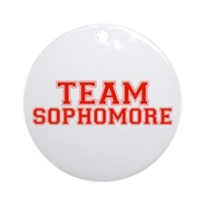 Team Sophomore Ornament (Round)