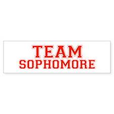 Team Sophomore Bumper Bumper Sticker