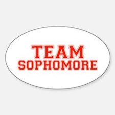 Team Sophomore Oval Decal