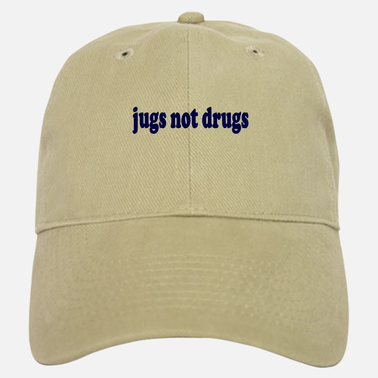 Jugs Not Drugs (Breast) Baseball Baseball Cap