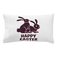 Happy Easter Bunnies Pillow Case