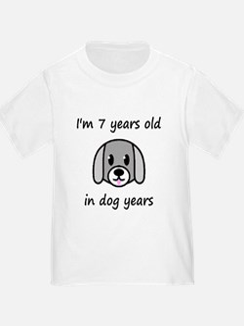 1 dog years 2 T-Shirt