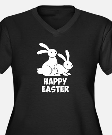 Happy Easter Bunnies Plus Size T-Shirt