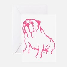 Cool Bulldogs Greeting Cards (Pk of 20)