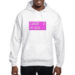 'Cancer:0 My Mom:1' Hooded Sweatshirt