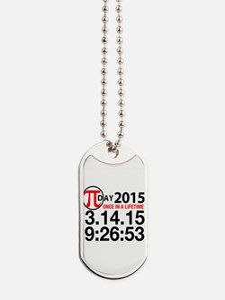 Pi Day 2015 Dog Tags