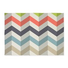 Chevron 5'x7'Area Rug