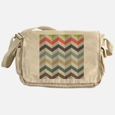 Chevron Messenger Bag