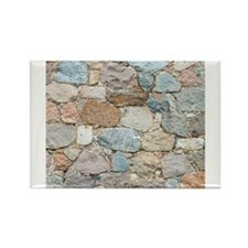 old wall from field stones Magnets