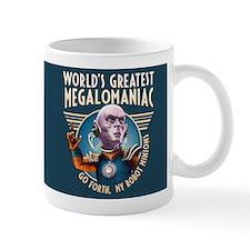 World's Greatest Megalomiac Mug Mugs