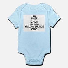 Keep calm you live in Yellow Springs Ohi Body Suit