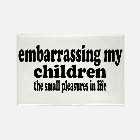 Embarrassing My Children Rectangle Magnet