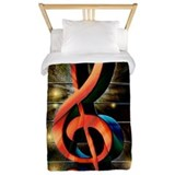 Music Twin Duvet Covers